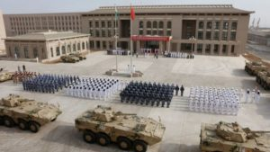 chinese forces firing lasers at the us in djibouti
