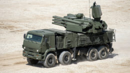 Algeria displays new Pantsir SM in a live fire exercise