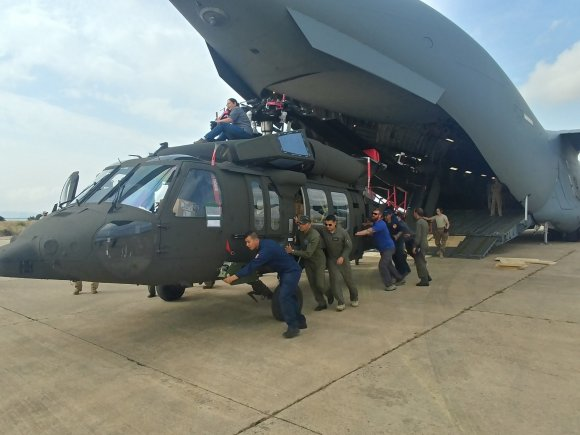 Tunisia receives UH-60M Black Hawk helicopters